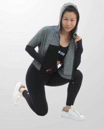 training hoodie women's